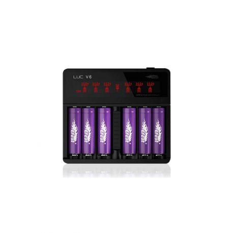 Chargeur LCD Luc V4 et V6 - Efest