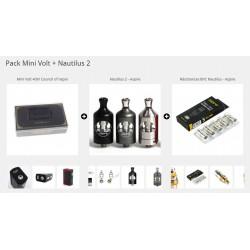 Pack Mini Volt + Nautilus 2 +5 Résistances