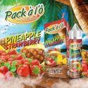 E-liquide Pineapple Strawberry - Pack à l'ô