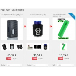 Pack RSQ - Dead Rabbit
