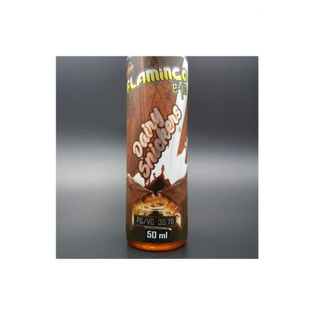 E-liquide Dairy Snickers 50 ml - Flamingo