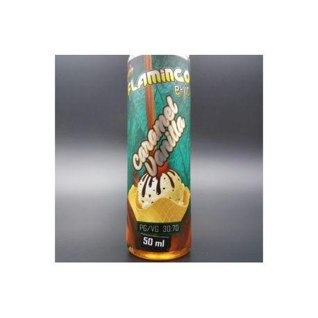 E-liquide Caramel Vanilla 50 ml- Flamingo