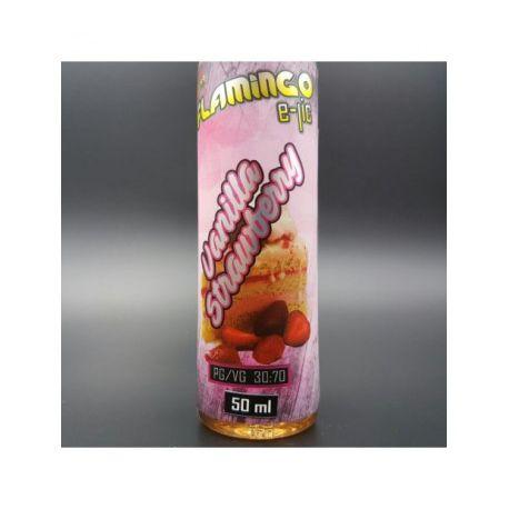 E-liquide Vanilla Strawberry 50 ml- Flamingo