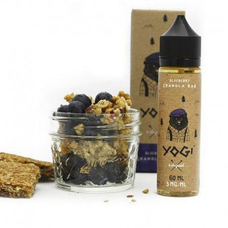 E-liquide Blueberry Yogi 100 ml - Yogi Elilquid