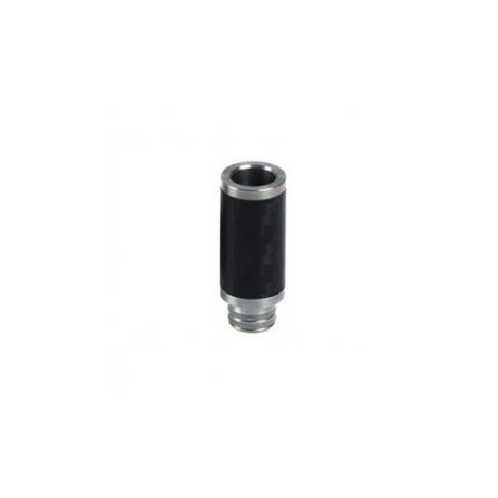 Drip Tip Carbone et Inox 510 (C)