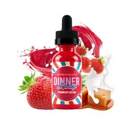Strawberry Custard 60 Ml - Dinner Lady