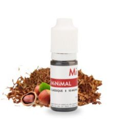 E liquide sel de Nicotine Classique 10ml - MiNiMal The Fuu