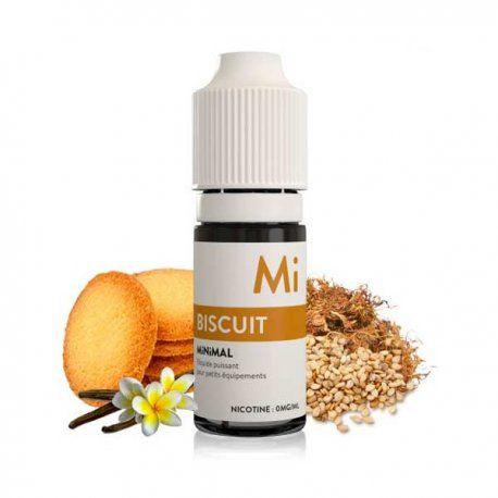 E liquide sel de Nicotine Biscuit 10ml - MiNiMal The Fuu