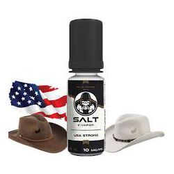 E liquide USA Strong Sel de Nicotine 10 mg / 10 ml - Le French Liquide