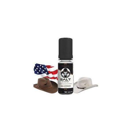 E liquide USA Strong Sel de Nicotine 10 mg / 10 ml - Le French Liquide