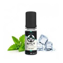 E liquide Ice Mint Sel de Nicotine 10 mg / 10 ml - Le French Liquide