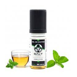 E liquide Green Storm Sel de Nicotine 20 mg / 10 ml - Le French Liquide