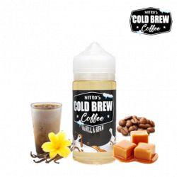 E liquide Vanilla Bean 100 ml - Nitro's Cold Brew Shakes eJuice