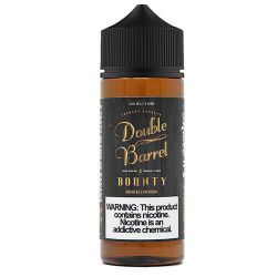 E liquide Bounty 120 ml - Double Barrel Tobacco Reserve