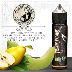 E-liquide Pair Of Deuces 60 ml - Villain Vapors