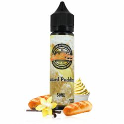 E liquide Custard Pudding 50 ML - Customixed