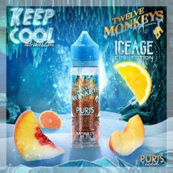 E liquide Puris Iced 50ml - Twelve Monkeys Vapor Co