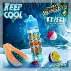 E liquide Tropika Iced 50ml - Twelve Monkeys Vapor Co