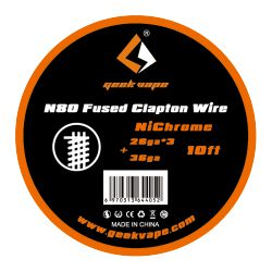 N80 Fused Clapton Wire Nichrome - Geek Vape