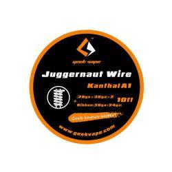Juggernaut Wire Kanthal A1 - Geek Vape