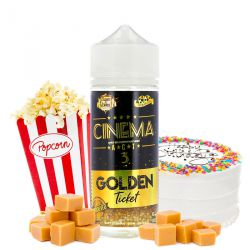 E-liquide Cinema A.C.T 3 Golden Ticket 100ml - Cloud of Icarus