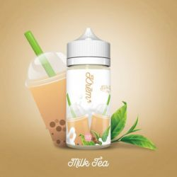 E liquide Krem Milk Tea 100 ml - Skwezed