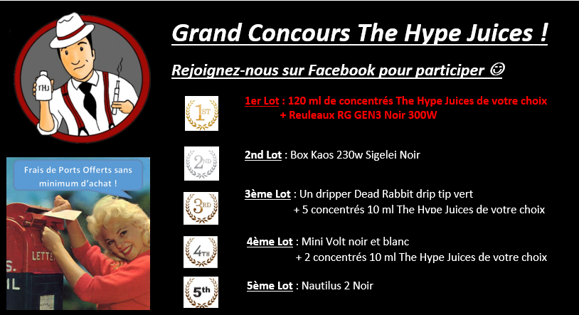 concours The Hype Juices